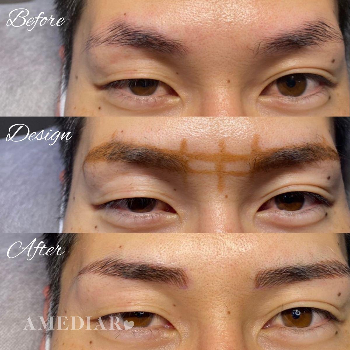 アートメイク メンズ眉 image1